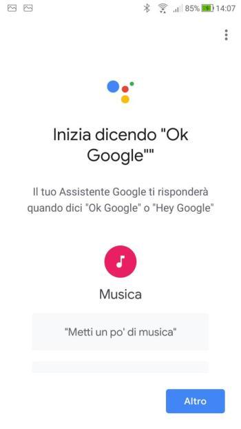 Goolge Home - Inizia dicendo Ok Google 01