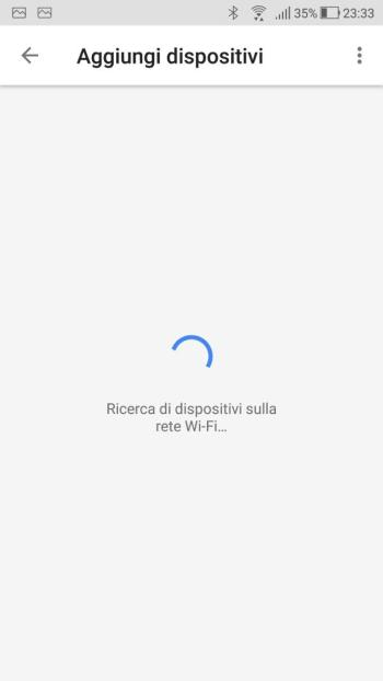 Google Home - Voice Match - Ricerca dispositivi Rete Wi-Fi