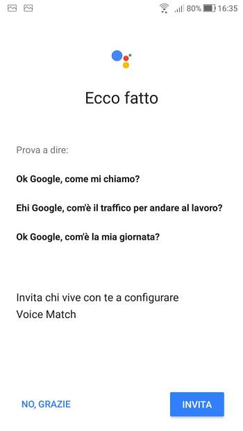 Google Home - Voice Match - Ecco Fatto