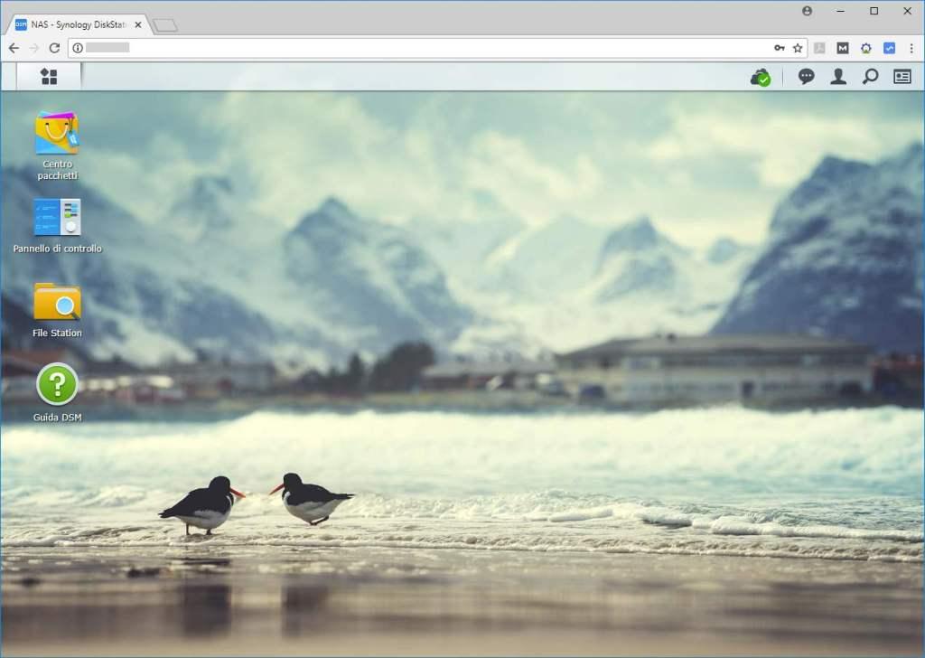 Synology - DiskStation Manager - Desktop