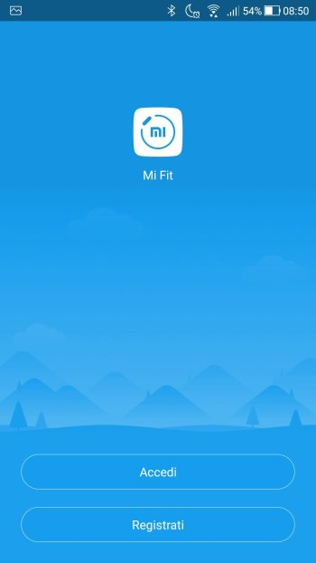 Xiaomi Mi Fit - LogIn