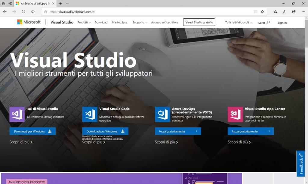 Microsoft Visual Studio - Home Page