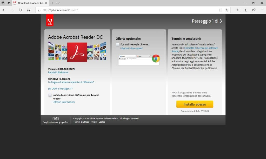 Adobe Acrobat Reader DC - Sito Download