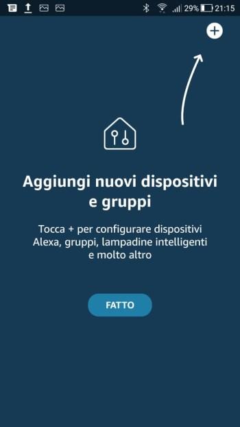 Amazon Alexa - Aggiungi dispositivi