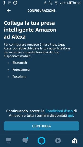Amazon Alexa - Collega la tua presa intelligente Amazon ad Alexa