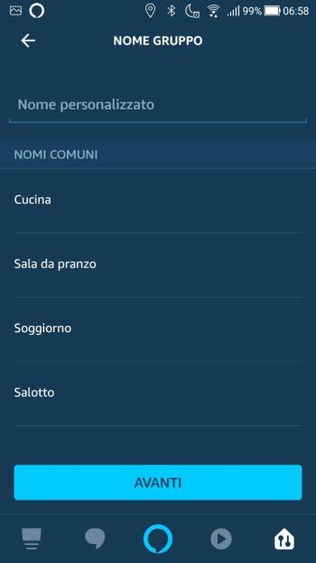 Amazon Echo - Nome gruppo