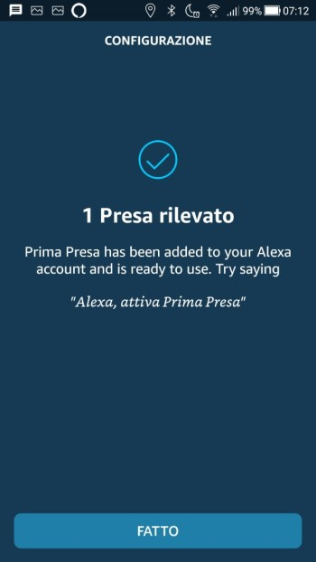 Amazon Smart Plug - Collegamento presa a wi-fi - Fine