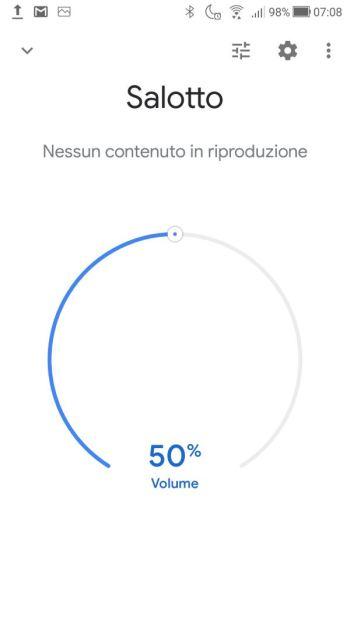 Google Home - Salotto - Google Home Mini
