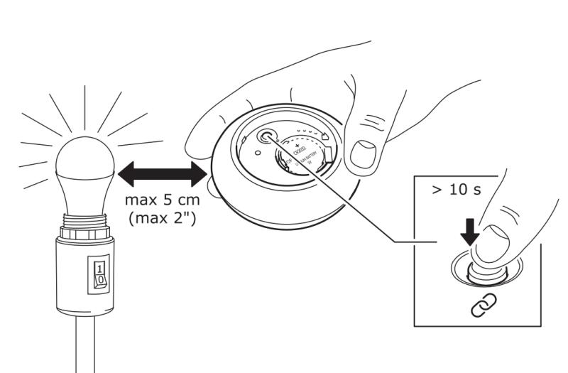 Ikea Tradfri - Telecomando - Accoppiamento