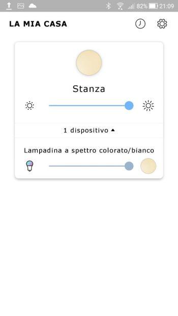 Ikea TRÅDFRI - App - Prima pagina