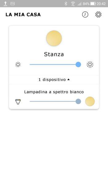 Ikea TRÅDFRI - App - Stanza - Lampadina Spettro Bianco
