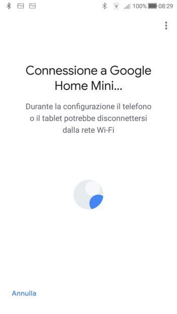Google Home - Connessione a Google Home
