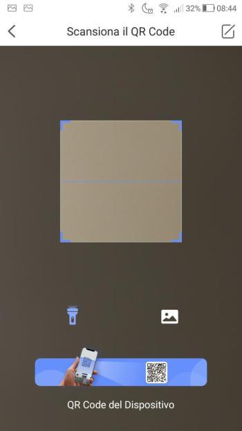 App EZVIZ - Scansiona il QR Code