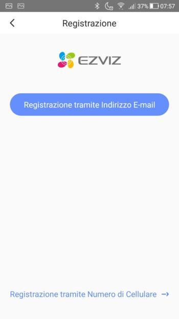 EZVIZ - Registrazione