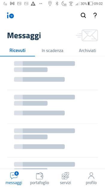 App IO - SPID - Accesso completato