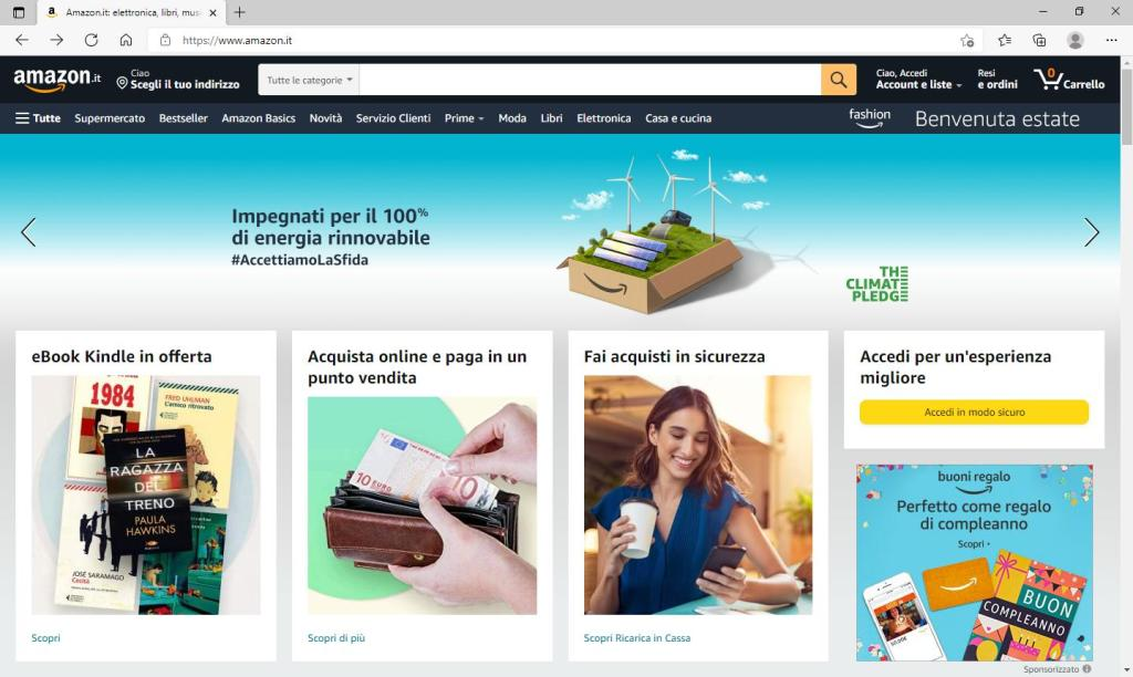 Amazon - Home Page