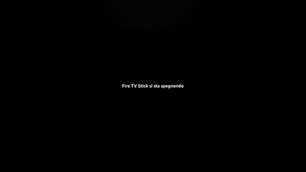 Amazon Fire TV Stick - Fire TV Stick si sta spegnendo