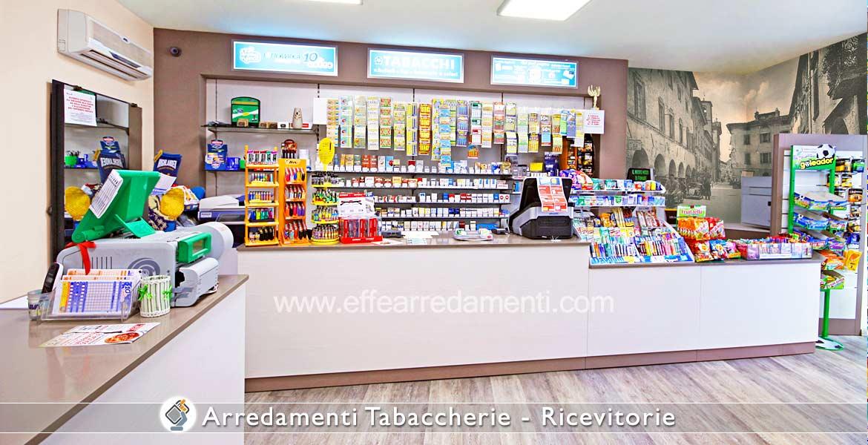 Arredamento Tabaccherie Ricevitorie  Effe Arredamenti
