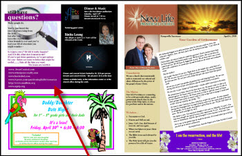 church bulletin samples effective church communications