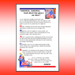 4th of July Bulletin Insert