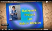 Backpack Ministry Video