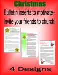 Christmas Bulletin Inserts