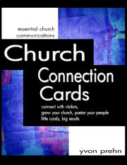 Church Connection Cards Cover