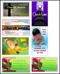 Church Business and Invitation Cards