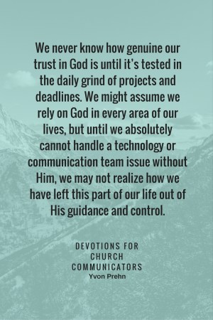 Devotion for Church Com about trials