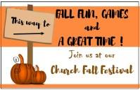Fall festival card