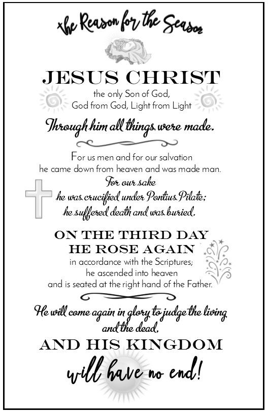 essay on the nicene creed Essay the ligonier statement on christology  so today, we have the resources of the apostles' creed, the nicene creed,.