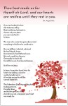 A free Valentines Day flyer or bulletin insert to remind people of God's love, plus strategy to make the most of it
