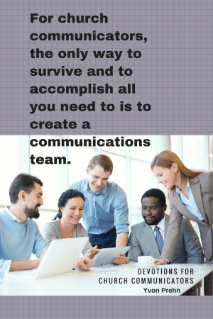 Create a communications team at your church