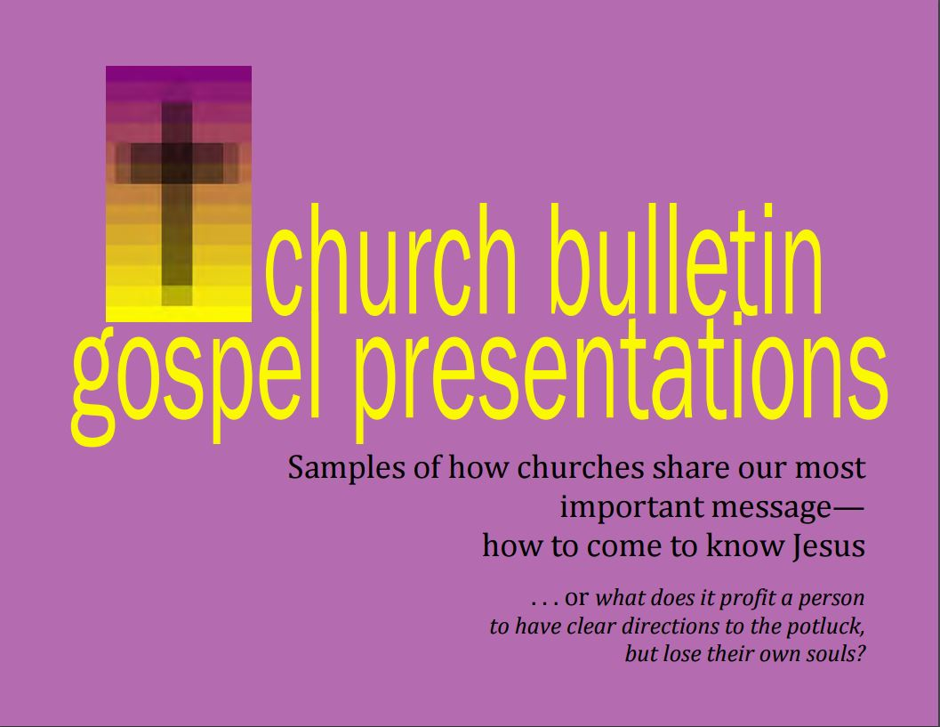 Church Gospel Presentations e-book by Yvon Prehn