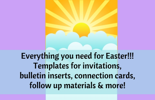 Click here for lists of ALL Easter Communications resources you need