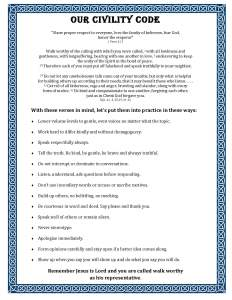 A Civility Code, free download