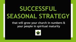 Successful Seasonal Strategy 2