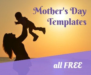 FREE Mother's Day templates