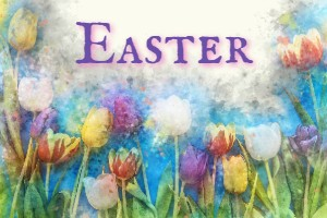 A simple Easter card