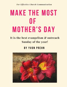 MOTHER DAY Cover--make the most of it for evangelism and discipleship