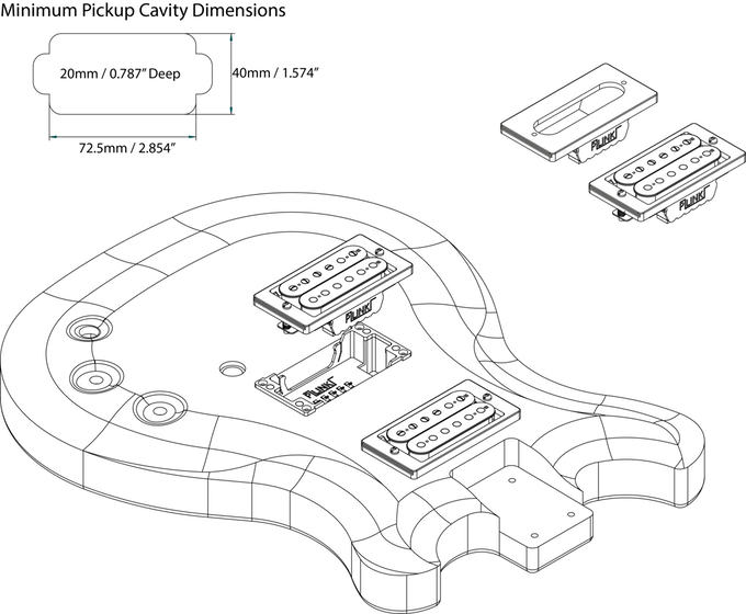 Ledningsdiagram For 2 P90 Pickups