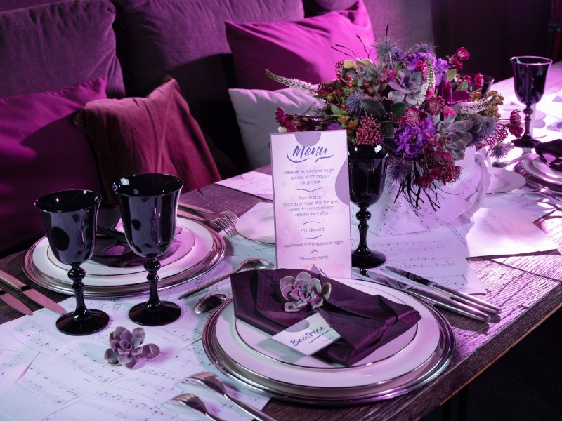 EFFEEDORA - Wedding planner - île de France - Shooting Inspiration Mariage Purple Rain