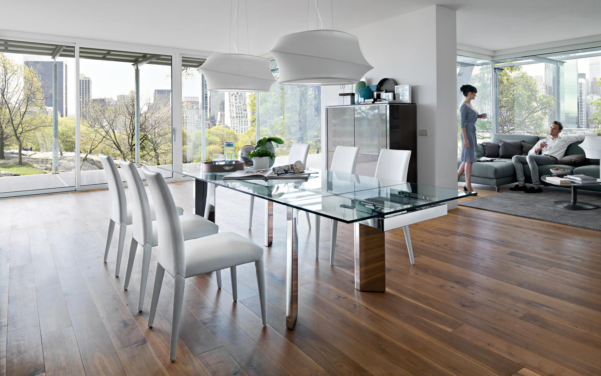 Tavolo Towe Wood Calligaris  Effe Emme Due