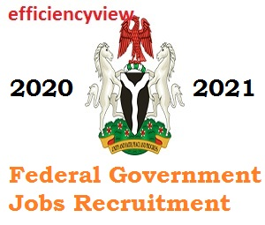 Online Recruitment Jobs in Federal Government of Nigeria 2020/2021