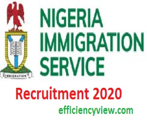 Nigeria Immigration Service Recruitment 2020/2021