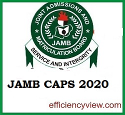 Photo of How to check 2020/2021 UTME/DE Admission Status on JAMB Caps