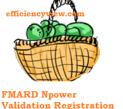 Photo of FMARD Npower Validation Registration Survey for Agro/Teach/Health Beneficiaries 2020