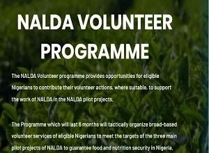 Photo of NALDA Volunteers Programme Registration Form Portal 2020/2021 – www.nalda.ng