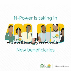 Downloads Npower Recruitment Form of 400000 beneficiaries 2020-2021