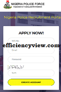 NPF Recruitment Requirements for 2020 Constable Jobs